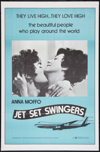 """Jet Set Swingers Lot (Paragon, 1970). One Sheets (2) (27"""" X 41"""") Styles A & B, Lobby Cards (4) (11"""" X..."""