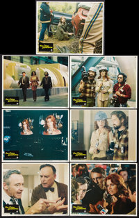 """The China Syndrome (Columbia, 1979). One Sheet (27"""" X 41""""), and Lobby Cards (7) (11"""" X 14""""). Thrille..."""