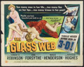 """Movie Posters:Crime, The Glass Web (Universal International, 1953). Half Sheet (22"""" X 28"""") 3-D Style. Crime.. ..."""