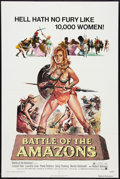 "Movie Posters:Action, Battle of the Amazons Lot (American International, 1973). One Sheets (2) (27"" X 41""). Action.. ... (Total: 2 Items)"