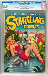Startling Comics #49 (Better Publications, 1948) CGC VG/FN 5.0 Cream to off-white pages