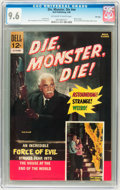 Silver Age (1956-1969):Horror, Movie Classics: Die, Monster, Die #nn File Copy (Dell, 1966) CGCNM+ 9.6 Off-white to white pages....