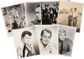 Movie/TV Memorabilia:Autographs and Signed Items, Alan Ladd, Edward G. Robinson, and Others Signed Photos.... (Total:7 )