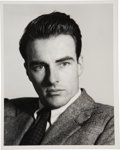 Movie/TV Memorabilia:Autographs and Signed Items, Montgomery Clift Signed Photo....