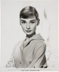 Movie/TV Memorabilia:Autographs and Signed Items, Audrey Hepburn Signed Photo....