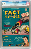 "Golden Age (1938-1955):Non-Fiction, Real Fact Comics #9 Davis Crippen (""D"" Copy) pedigree (DC, 1947)CGC VF 8.0 Off-white pages...."
