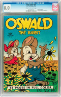 Golden Age (1938-1955):Funny Animal, Four Color #21 Oswald the Rabbit (Dell, 1943) CGC VF 8.0 Cream tooff-white pages....