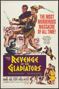 "Movie Posters:Adventure, Revenge of the Gladiators (Paramount, 1965). One Sheet (27"" X 41""). Adventure.. ..."