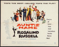 """Movie Posters:Comedy, Auntie Mame (Warner Brothers, 1958). Half Sheet (22"""" X 28""""). Comedy.. ..."""