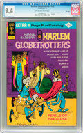 Bronze Age (1970-1979):Cartoon Character, Harlem Globetrotters #12 File Copy (Gold Key, 1975) CGC NM 9.4Off-white to white pages....