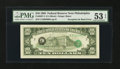 Error Notes:Third Printing on Reverse, Fr. 2027-C $10 1985 Federal Reserve Note. PMG About Uncirculated 53 EPQ.. ...