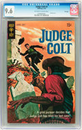Bronze Age (1970-1979):Western, Judge Colt #3 File Copy (Gold Key, 1970) CGC NM+ 9.6 Off-white to white pages....