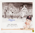 "Baseball Collectibles:Others, Ted Williams ""1947"" Signed Lithograph...."