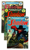 Bronze Age (1970-1979):Miscellaneous, The Shadow Group (DC, 1973-75) Condition: Average VF.... (Total: 34Comic Books)