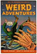 Golden Age (1938-1955):Horror, Weird Adventures #1 (P.L. Publishing Co., 1951) Condition:FN/VF....