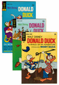 Bronze Age (1970-1979):Cartoon Character, Donald Duck File Copies Group (Gold Key, 1967-80) Condition:Average VF+.... (Total: 65 Comic Books)