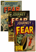Golden Age (1938-1955):Horror, Journey Into Fear #1, 4, and 5 Group (Superior, 1951-52)....(Total: 3 Comic Books)