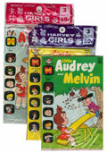 Bronze Age (1970-1979):Humor, Harvey Girls Pre-Packs File Copies Group (Harvey, 1973) Condition:Average VF.... (Total: 9 Comic Books)