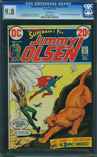 Superman's Pal Jimmy Olsen #156 (DC, 1973) CGC NM/MT 9.8 White pages