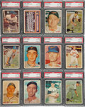 Baseball Cards:Lots, 1957 Topps baseball PSA NM-MT 8 Collection (26). ...
