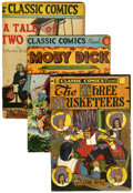 Golden Age (1938-1955):Classics Illustrated, Classic Comics Group (Gilberton, 0).... (Total: 7 Comic Books)
