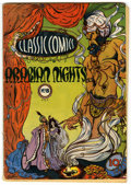 Golden Age (1938-1955):Classics Illustrated, Classic Comics #8 Arabian Nights first edition (Gilberton, 1943)Condition: VG....