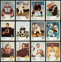 Football Cards:Lots, 1961 Fleer Football Collection With Stars (180 cards). ...