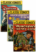 Golden Age (1938-1955):Classics Illustrated, Classics Illustrated Group (Gilberton, 1944-47) Condition: AverageVG.... (Total: 12 Comic Books)