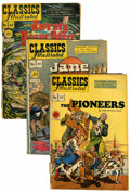 Golden Age (1938-1955):Classics Illustrated, Classics Illustrated First Editions Group (Gilberton, 1943-49)....(Total: 12 Comic Books)