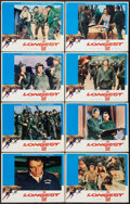 "Movie Posters:War, The Longest Day (20th Century Fox, R-1969). Lobby Card Set of 8(11"" X 14""). War.. ... (Total: 8 Items)"
