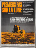"""Movie Posters:Documentary, Footprints on the Moon: Apollo 11 (20th Century Fox, 1969). French Grande (47"""" X 63""""). Documentary.. ..."""