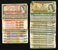 Canadian Currency: , Canadian Adventure.. ... (Total: 34 notes)