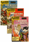 Golden Age (1938-1955):Classics Illustrated, Classics Illustrated First Editions Group (Gilberton, 1949-50) Condition: Average VG.... (Total: 12 Comic Books)