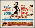 """Movie Posters:Comedy, The Girl Can't Help It (20th Century Fox, 1956). Half Sheet (22"""" X28""""). Comedy.. ..."""