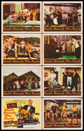 "Movie Posters:Rock and Roll, Don't Knock the Rock (Columbia, 1957). Lobby Card Set of 8 (11"" X 14""). Rock and Roll.. ... (Total: 8 Items)"