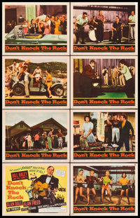 "Don't Knock the Rock (Columbia, 1957). Lobby Card Set of 8 (11"" X 14""). Rock and Roll. ... (Total: 8 Items)"