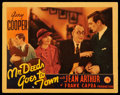 """Movie Posters:Comedy, Mr. Deeds Goes to Town (Columbia, 1936). Lobby Card (11"""" X 14"""").Comedy.. ..."""