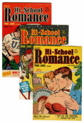 Golden Age (1938-1955):Romance, Hi-School Romance #6-10 and 12 File Copies Group (Harvey, 1950-51)Condition: Average NM-.... (Total: 6 Comic Books)