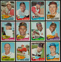 Baseball Cards:Lots, 1965 Topps Baseball Collection With Stars (222 cards)....