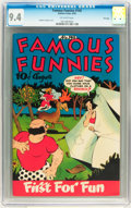 Golden Age (1938-1955):Humor, Famous Funnies #145 File Copy (Eastern Color, 1946) CGC NM 9.4 Off-white pages....