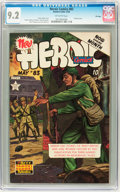 Golden Age (1938-1955):War, Heroic Comics #83 File Copy (Eastern Color, 1953) CGC NM- 9.2 Off-white pages....