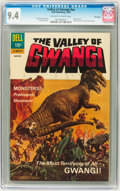 Silver Age (1956-1969):Horror, Movie Classics: Valley of Gwangi - File Copy (Dell, 1969) CGC NM9.4 Off-white to white pages....