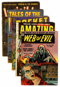 Golden Age (1938-1955):Horror, Miscellaneous Golden Age Horror/Sci-Fi Group (Various Publishers,1951-54).... (Total: 5 Comic Books)