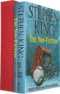Books:Horror & Supernatural, [Stephen King]. Rocky Wood and Justin Brooks. SIGNED. Stephen King: The Non-Fiction. Forest Hill, Maryland: Cemetery...