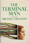 Books:Horror & Supernatural, Michael Crichton. SIGNED. The Terminal Man. New York: AlfredA. Knopf, 1972. First edition. Signed by the author o...