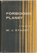 Books:Science Fiction & Fantasy, W. J. Stuart. Forbidden Planet. New York: Farrar, Straus andCudahy, 1956. First edition. Illustrated dust jacket wi...