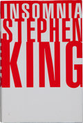 Books:Horror & Supernatural, Stephen King. SIGNED. Insomnia. [New York]: Viking, [1994].First edition. Signed by the author on title pag...