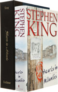 Books:Horror & Supernatural, Stephen King. SIGNED. Hearts in Atlantis. [New York]: Scribner, [1999]. First edition, third printing. Signed ...