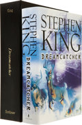Books:Horror & Supernatural, Stephen King. INSCRIBED. Dreamcatcher. New York: Scribner,[1998]. First edition. Inscribed and dated by the autho...