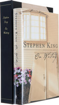 Books:Horror & Supernatural, Stephen King. SIGNED. On Writing. A Memoir of theCraft. [New York]: Scribner, [2000]. First edition. Signed b...